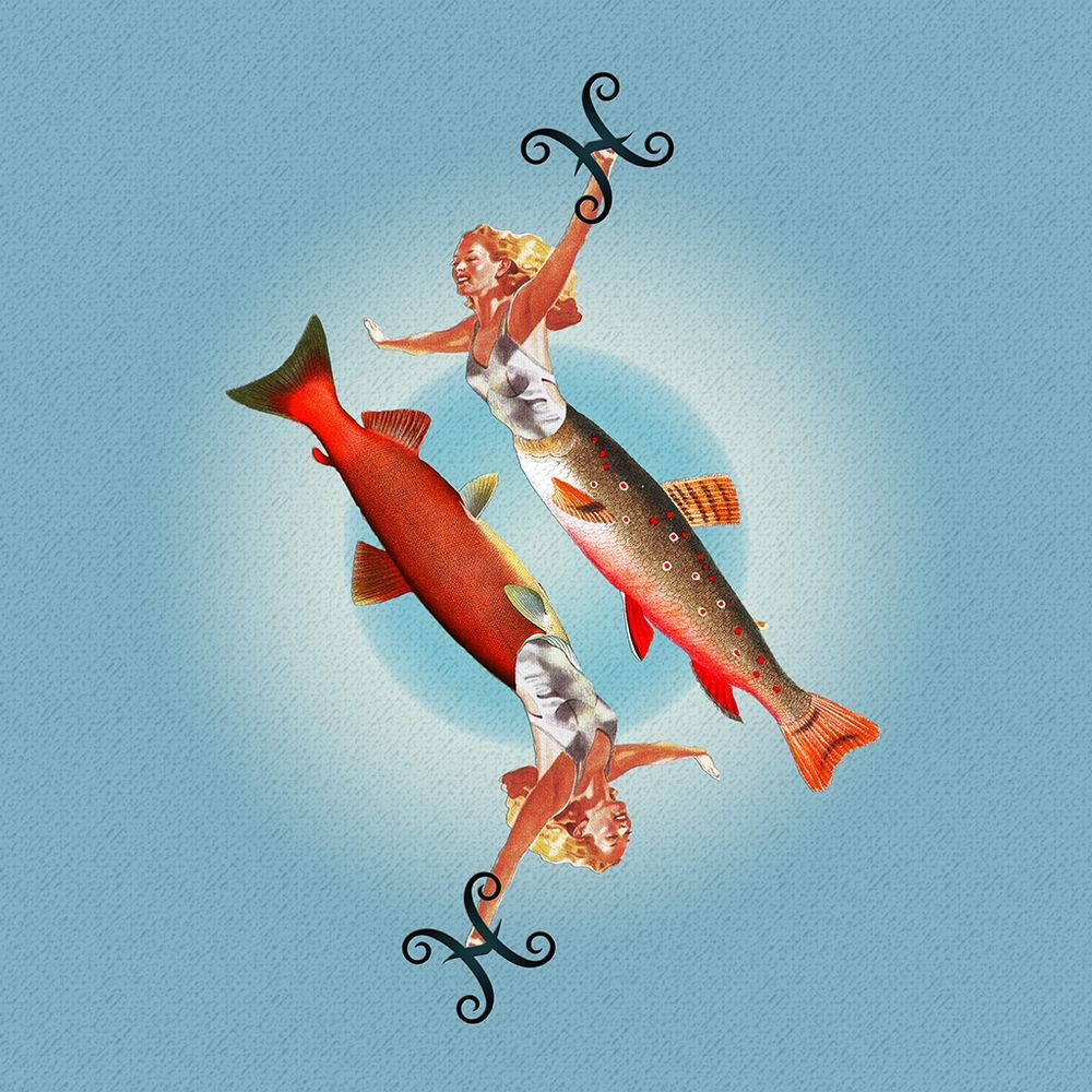 Eugenia Loli Collage - Pisces