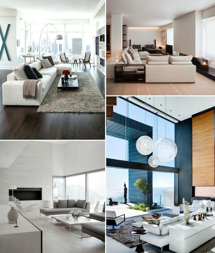 Idée Décoration Maison En Photos 2018 u2013 salon moderne en tons