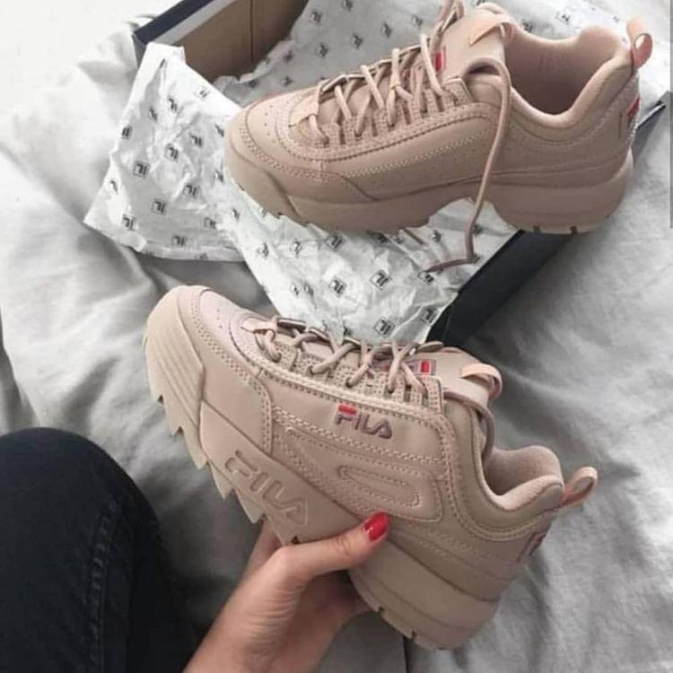 Fila sneakers, fila strata disruptor, women sneakers, fall
