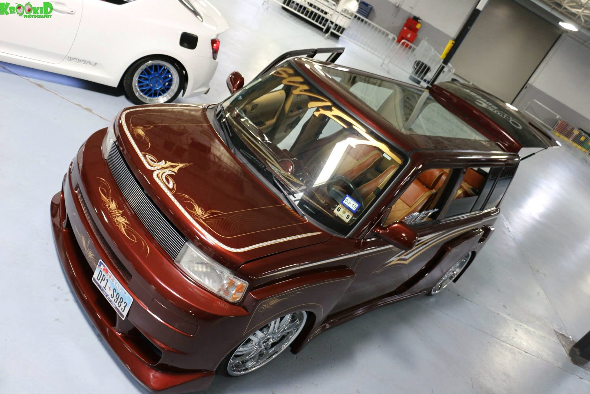 Bagged Scion Xb Glassroof 2door Conversion Full Custom Toyota Scion Xb Scion Xb Scion