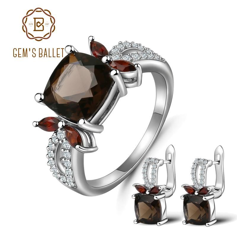 Banithani 925 Solid Silver Black Onyx Stone Charming Stud Earrings Set Fashion Jewelry