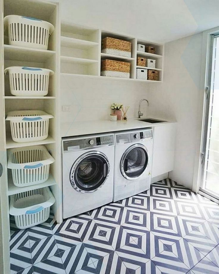 20 Stunning Laundry Room Decorating Ideas That Are Stylish And Functional Laund Laundry Room Decor Laundry Room Design Small Laundry Rooms