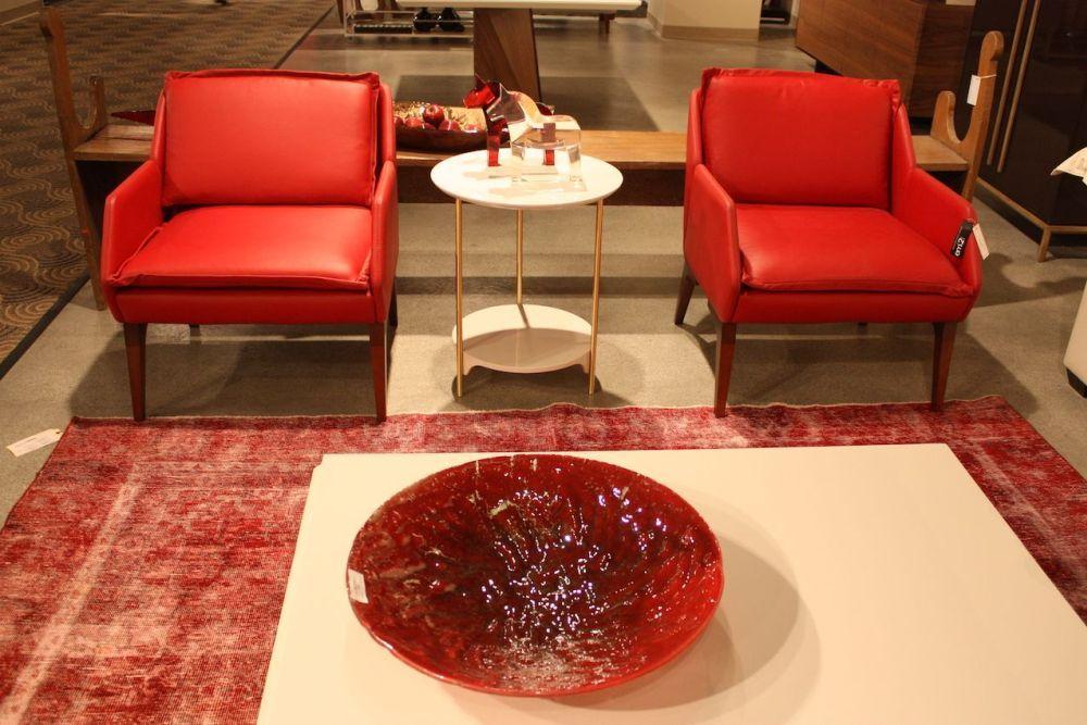 Las Vegas Furniture Market Features Cool Chair Designs Red Leather Chair Cool Chairs Leather Chair