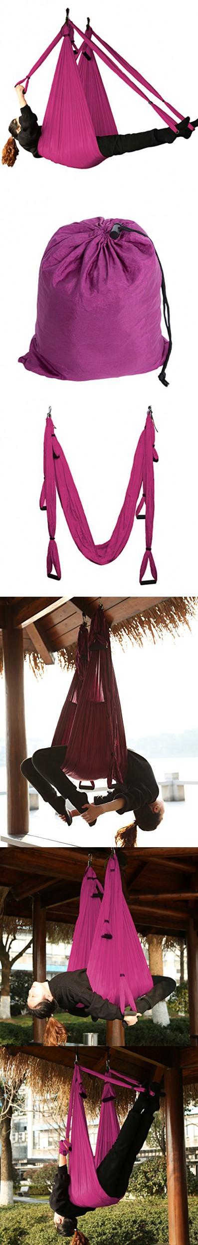 Aerial yoga swing antigravity yoga hammock air flying yoga sling