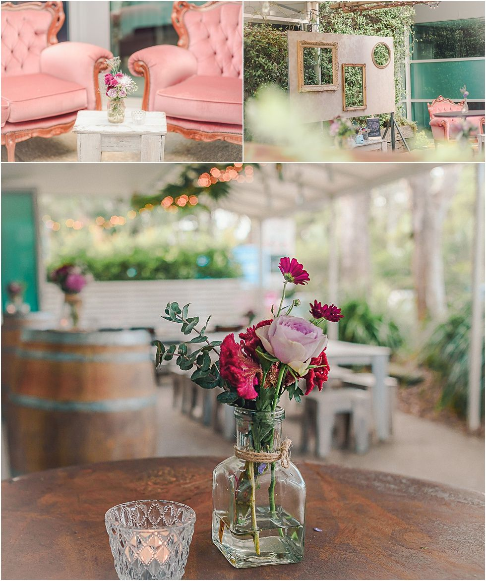Belongil Beach Wedding Ceremony: Belongil Bistro Wedding Styling – Amy & Matt