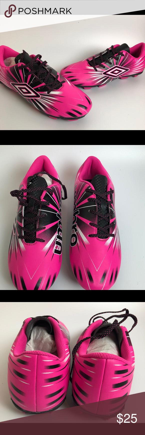 a82548d5d05 Umbro Girls Arturo 3.0 Soccer Cleats Size 4.5 Umbro Kids  Arturo 3.0 Soccer  Cleats Size 4.5 Pink Black Youth Girls Umbro Shoes