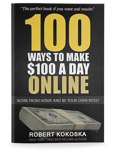 100 ways to make $100 a day , Online