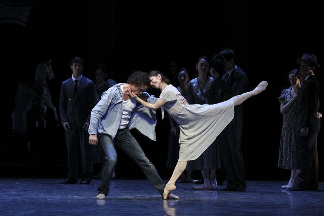 京都賞を受賞したノイマイヤー氏が芸術監督を務めるハンブルクバレエ団が来日