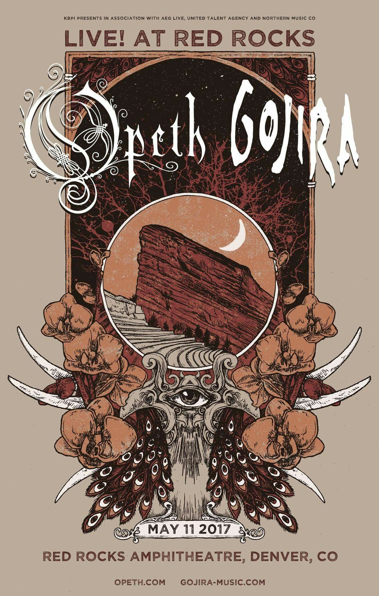 Opeth Gojira Band Posters Rock N Roll Art Music Concert Posters