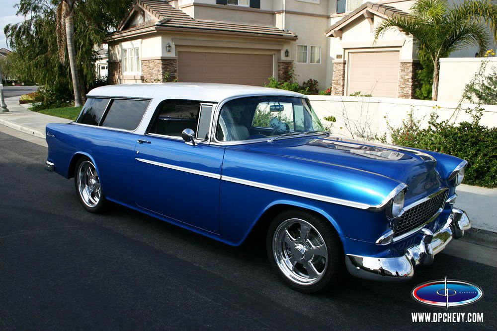 1955 Chevy Nomad 55 Chevy Chevy Classic Cars