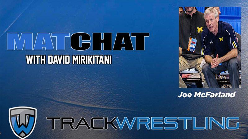 MC67 Retired Michigan wrestling coach Joe McFarland