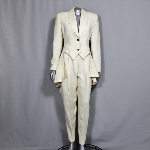 Jaw Dropping Women's Tuxedo Suit Award by WoodlandGlassVintage