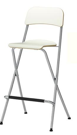 £23 - per white foldable chair