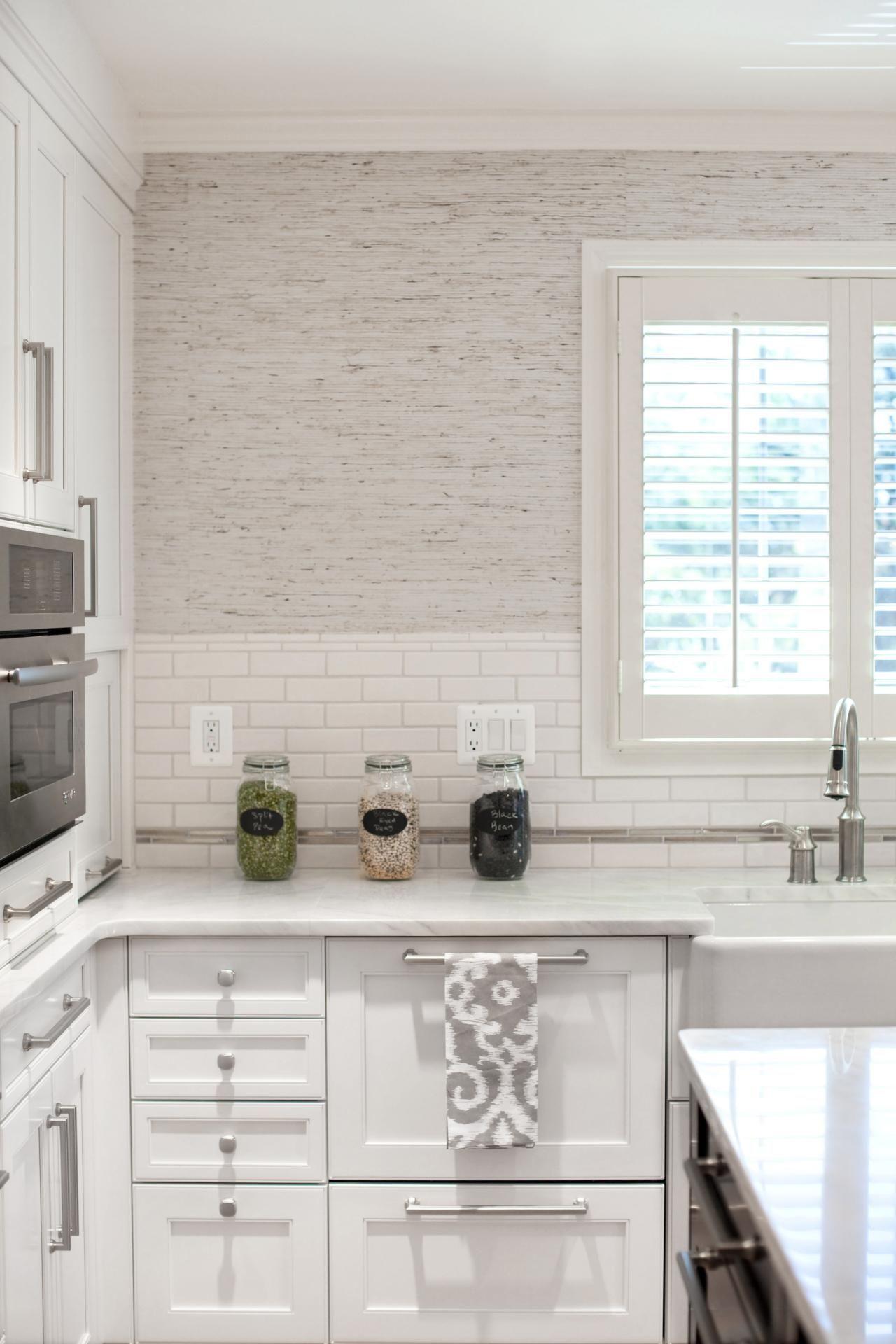 Best Use Of Pattern Texture Modern Kitchen Wallpaper Kitchen