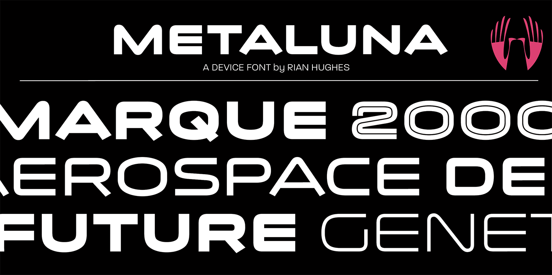Metaluna Webfont & Desktop font « MyFonts (With images
