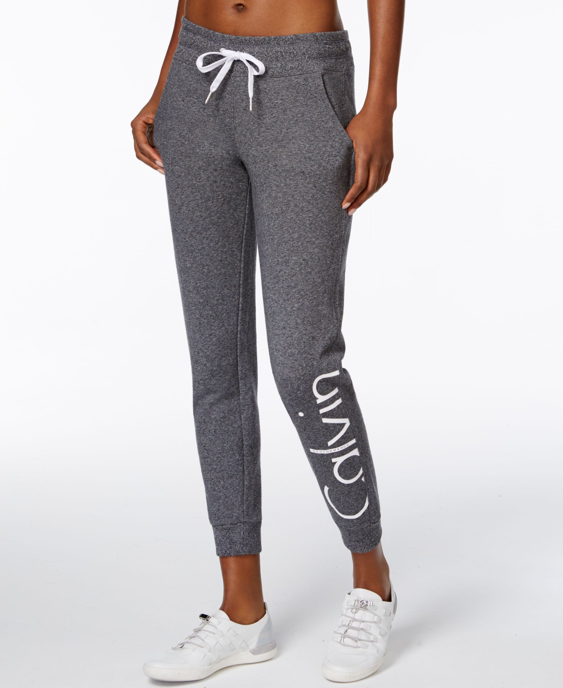 843834937d50a1 Make signature style part of your workout routine in these sleek Calvin  Klein Performance sweatpants. | Cotton/polyester | Machine washable |  Imported | Mid ...