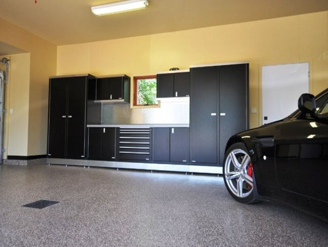Garage Interior Color Ideas