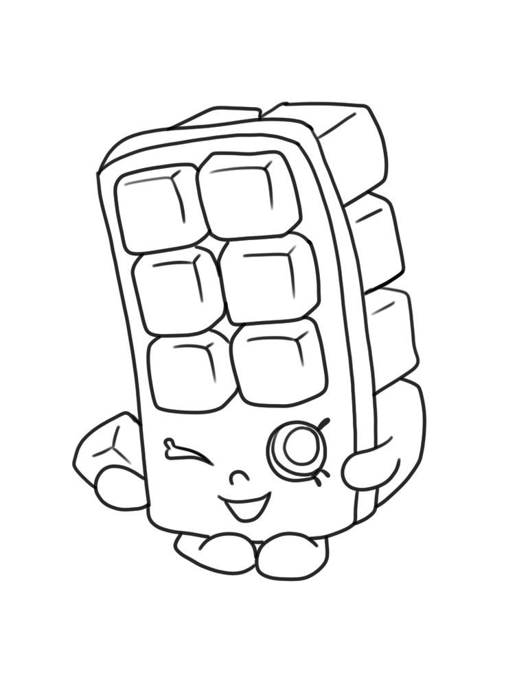 Pin On Shopkins Coloring Pages Free Printable