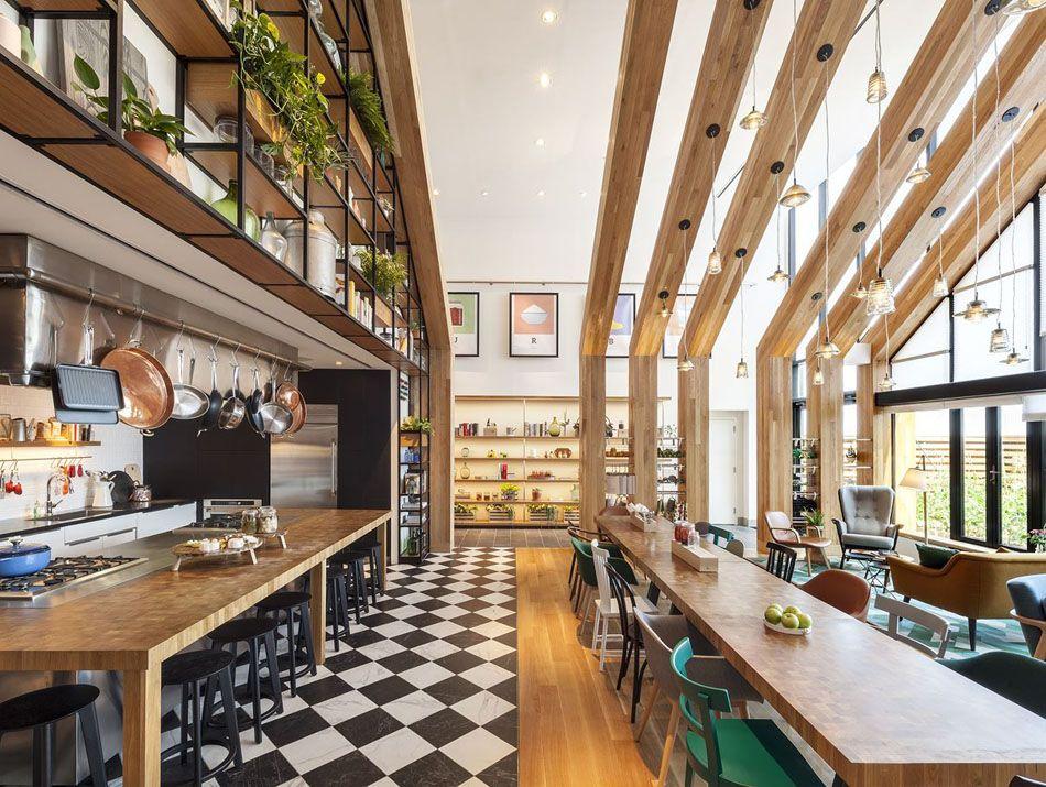 Urby – un immeuble résidentiel et un projet innovent à Staten Island Cuisine Commune on