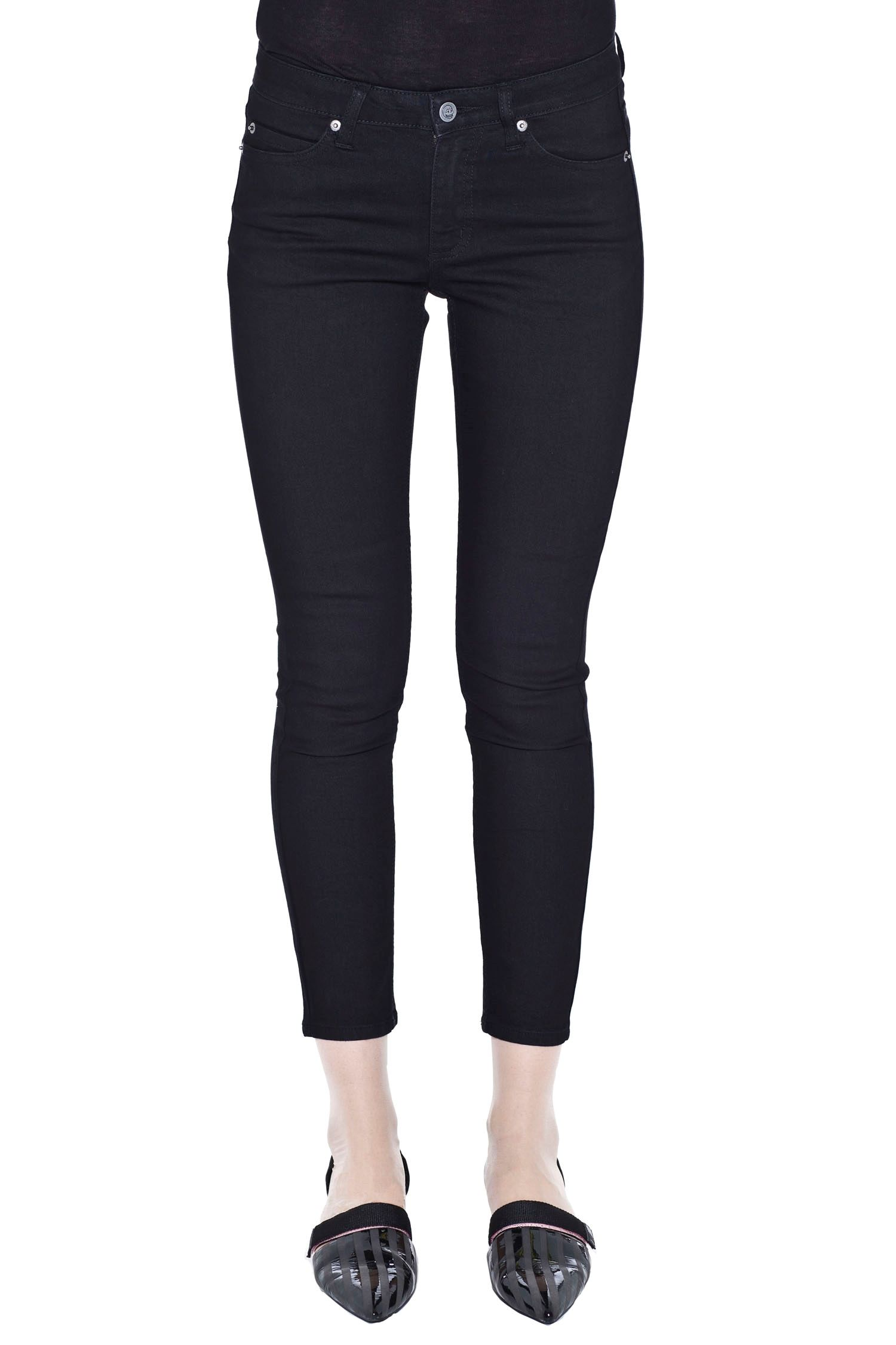 Prime cropped pitch black | Skinny fit jeans | CheapMonday.com