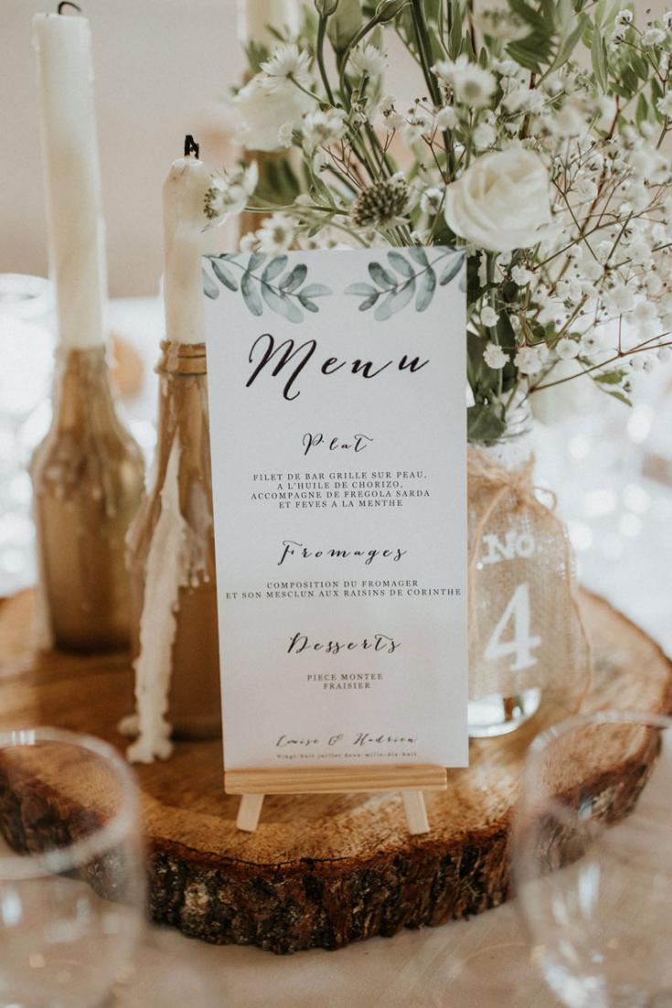 Menus printaniers : 35 idées pour de jolies tables de mariage !