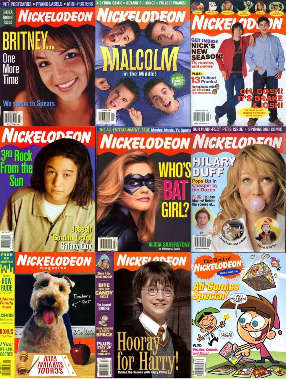 11+ Nickelodeon magazine ideas in 2021