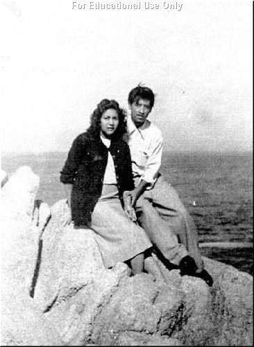 César E. Chávez and Wife Helen | Hispanic Heritage Month | Hispanic ...
