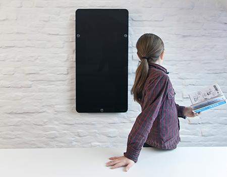 Design Verwarming Badkamer : Ravista elektrische radiator glazen radiator badkamer