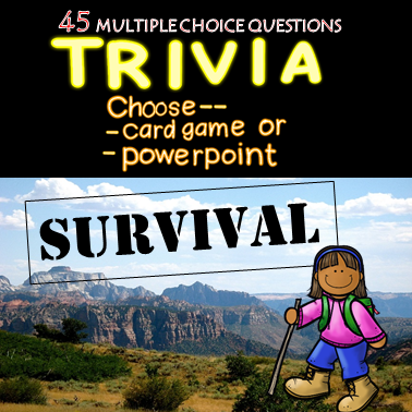 Suvival Trivia Game (Hunger Games, Lord of the Flies