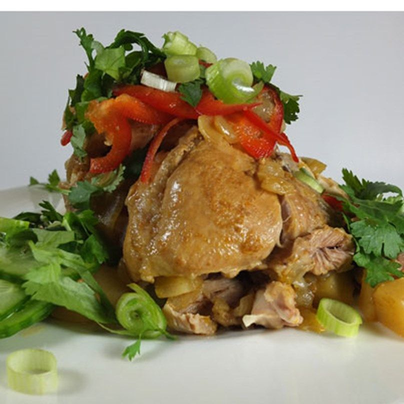 Thai Red Curry Chicken Pressure Cooker GI