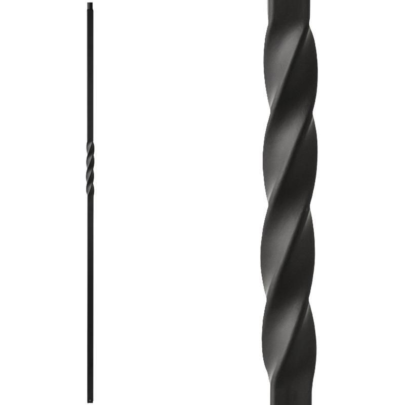 Best Iron Baluster 3 4 Single Twist Hollow Iron Spindle 44 640 x 480
