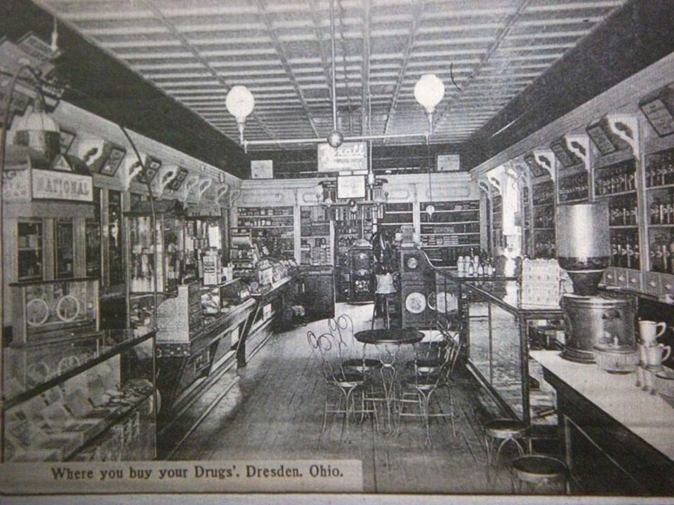 Dresden Pharmacy Dresden, Photo, Historical photos