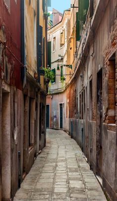 Image result for venice narrow streets