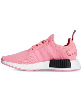 online retailer 3fa3a 686dd adidas Boys  Nmd Runner Casual Sneakers from Finish Line - Red 5.5