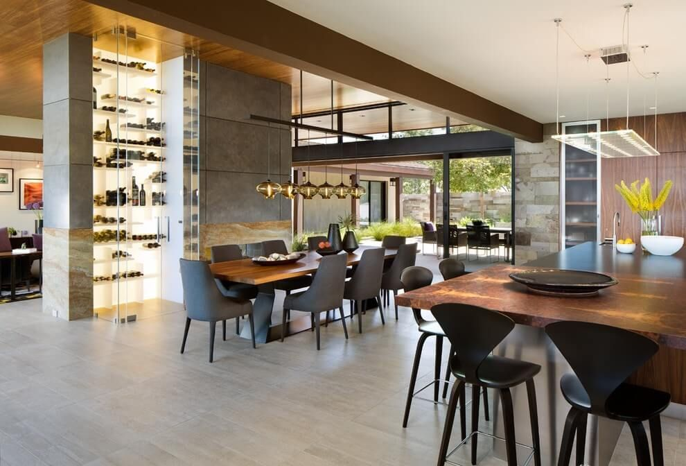 House in San Diego by Bruce Peeling Architect   Interior ...