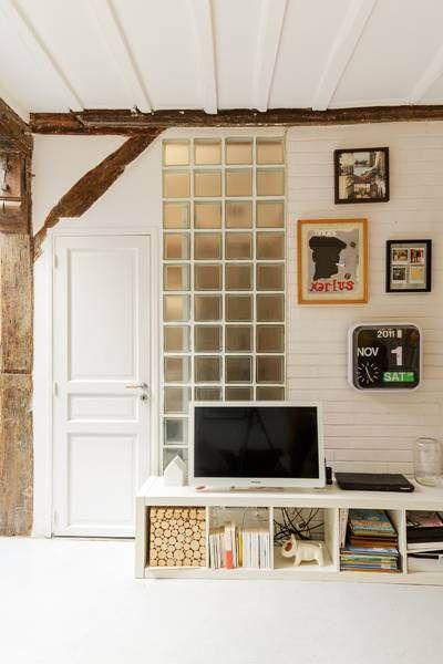 Épinglé par Azura Home Design sur Petit écran Pinterest Deco tv - Meuble Bibliotheque Maison Du Monde