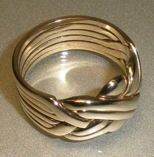 ring turkish puzzle ring