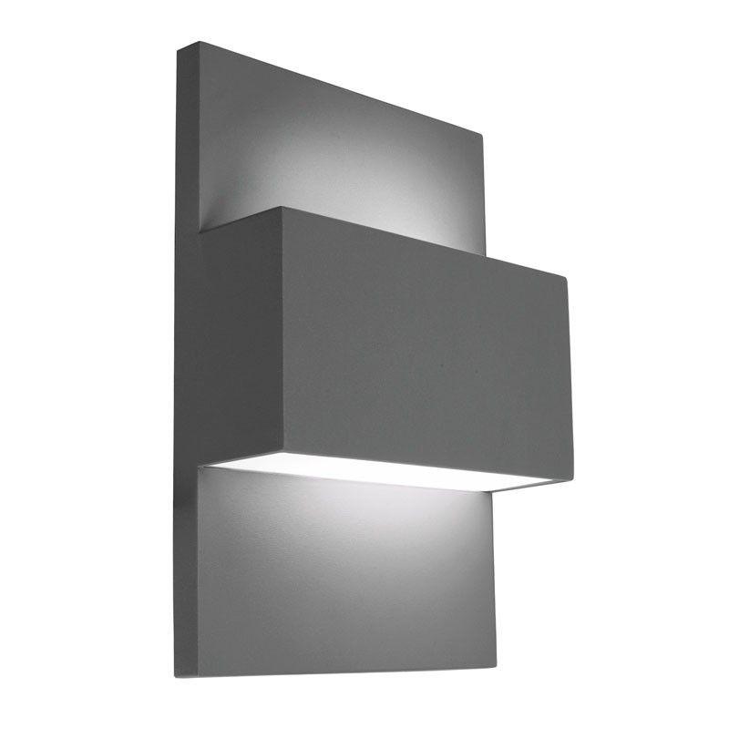 Modern Exterior Wall Lights Uk 7105 Calvi Outdoor Wall Light