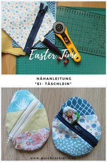 Nähen für Ostern #stoffresteverwerten