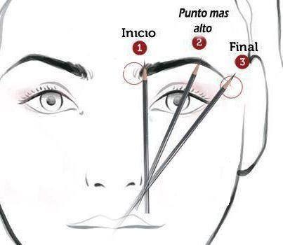 Todo sobre las cejas  AndreaABReina ¿Cómo depilar unas cejas - Tipos De Cejas