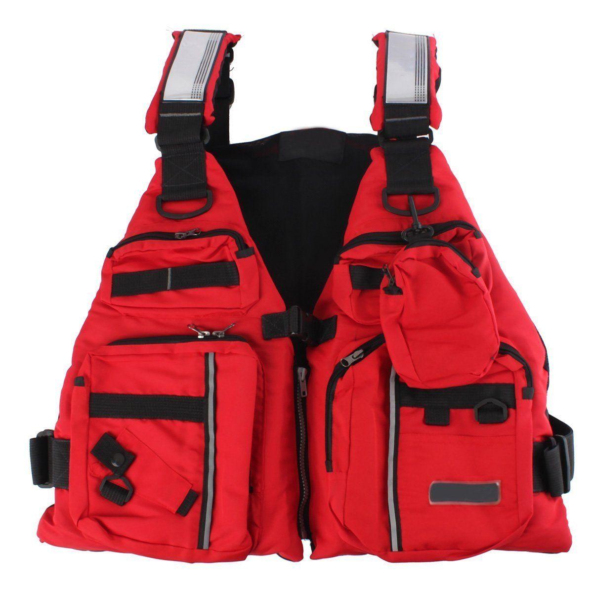 Adult Boating Buoyancy Aid Sailing Fishing Kayak Canoeing Life Jacket Vest Fine