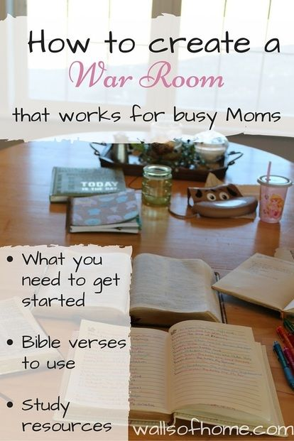 How To Create A War Room That Works In A Busy Schedule