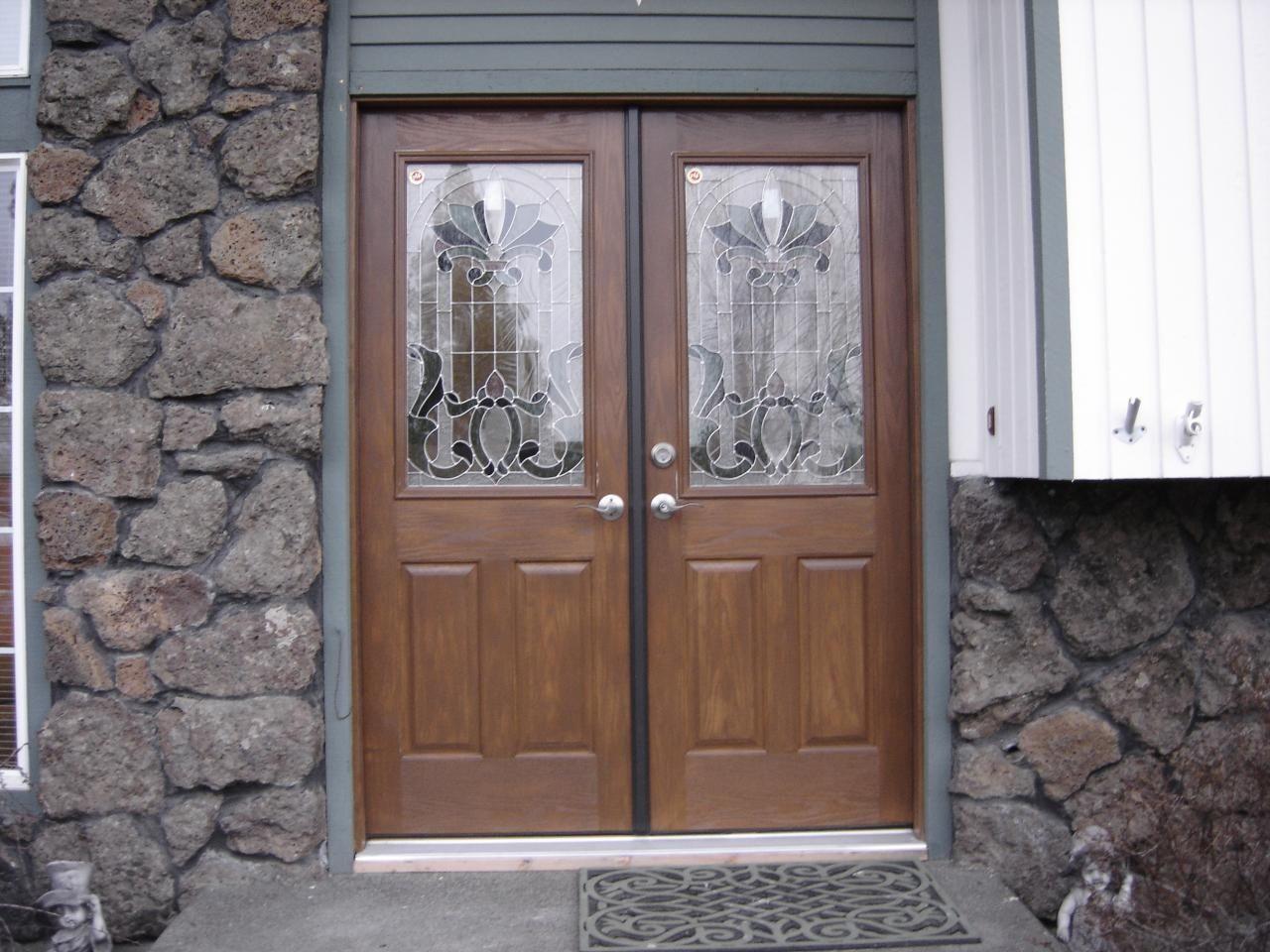 Fibergl Double Entry Doors