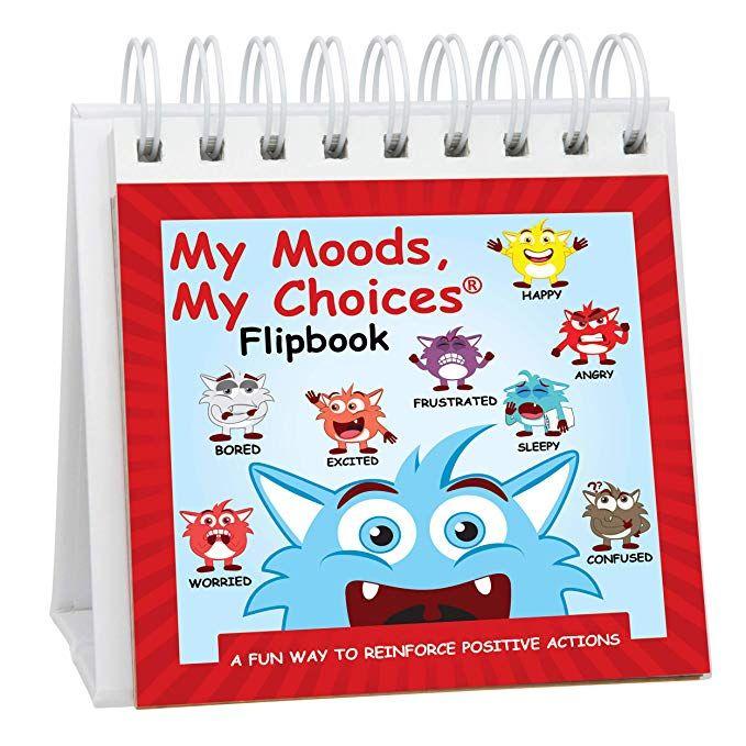 amazon com my moods my choices flipbook for kids 20