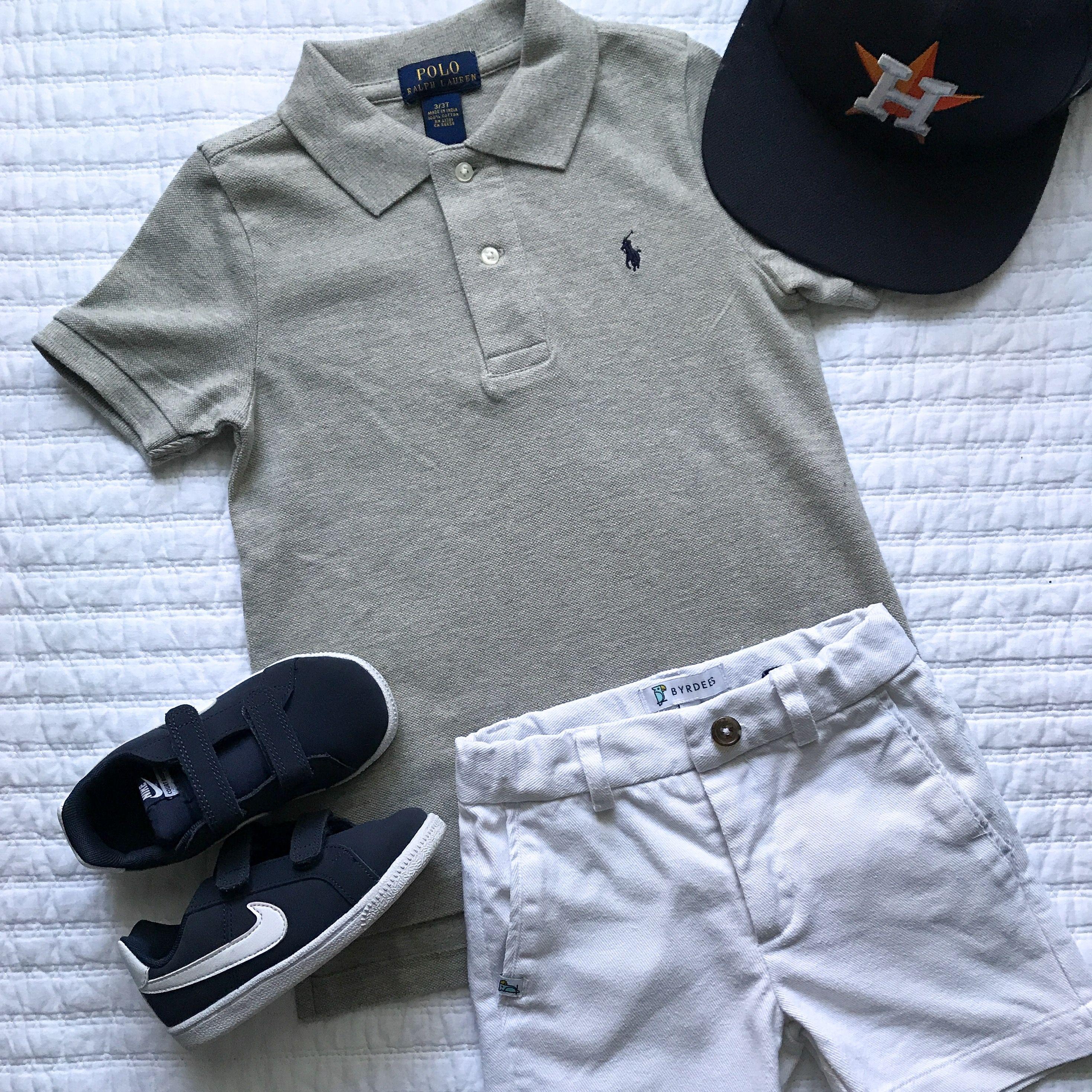 BYRDEES Basics Boys Shorts in Hamptons White