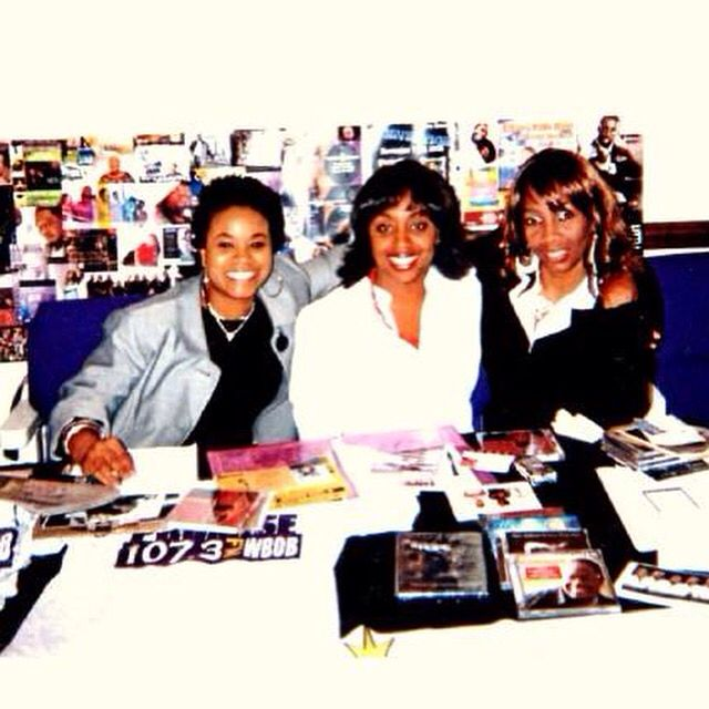 Rosetta Walker- with the radio station At a gospel showcase - interview workshop