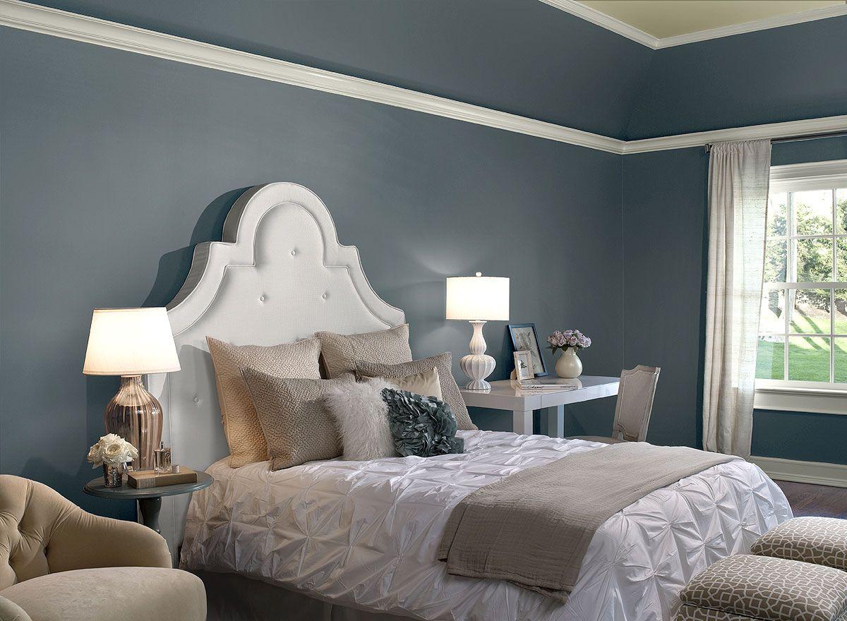 Benjamin Moore Paint Colors Blue Bedroom Ideas Restful Retreat Color Schemes