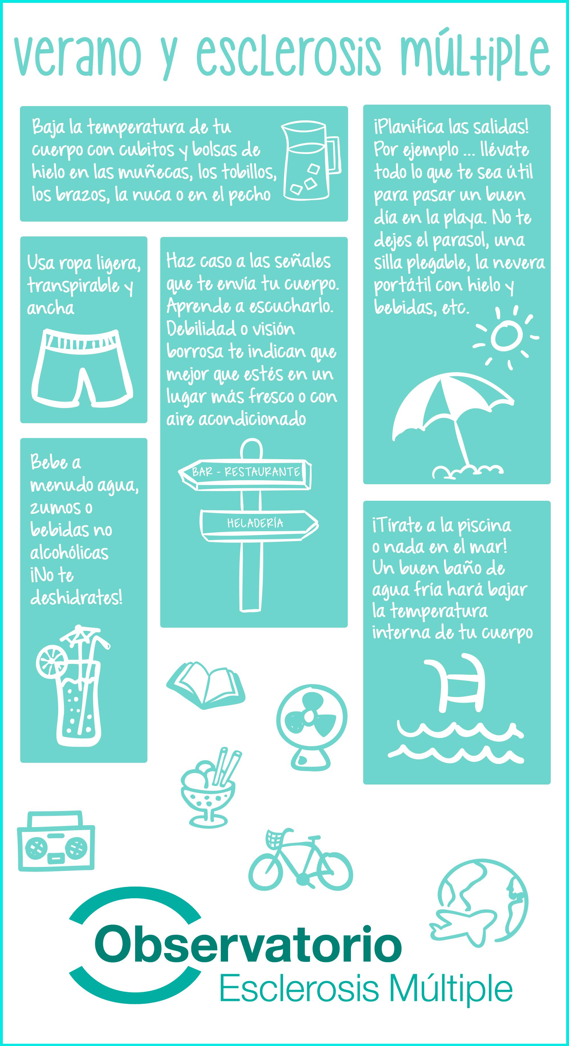 Cómo evitar la calor en verano con esclerosis múltiple? | Anatomia ...