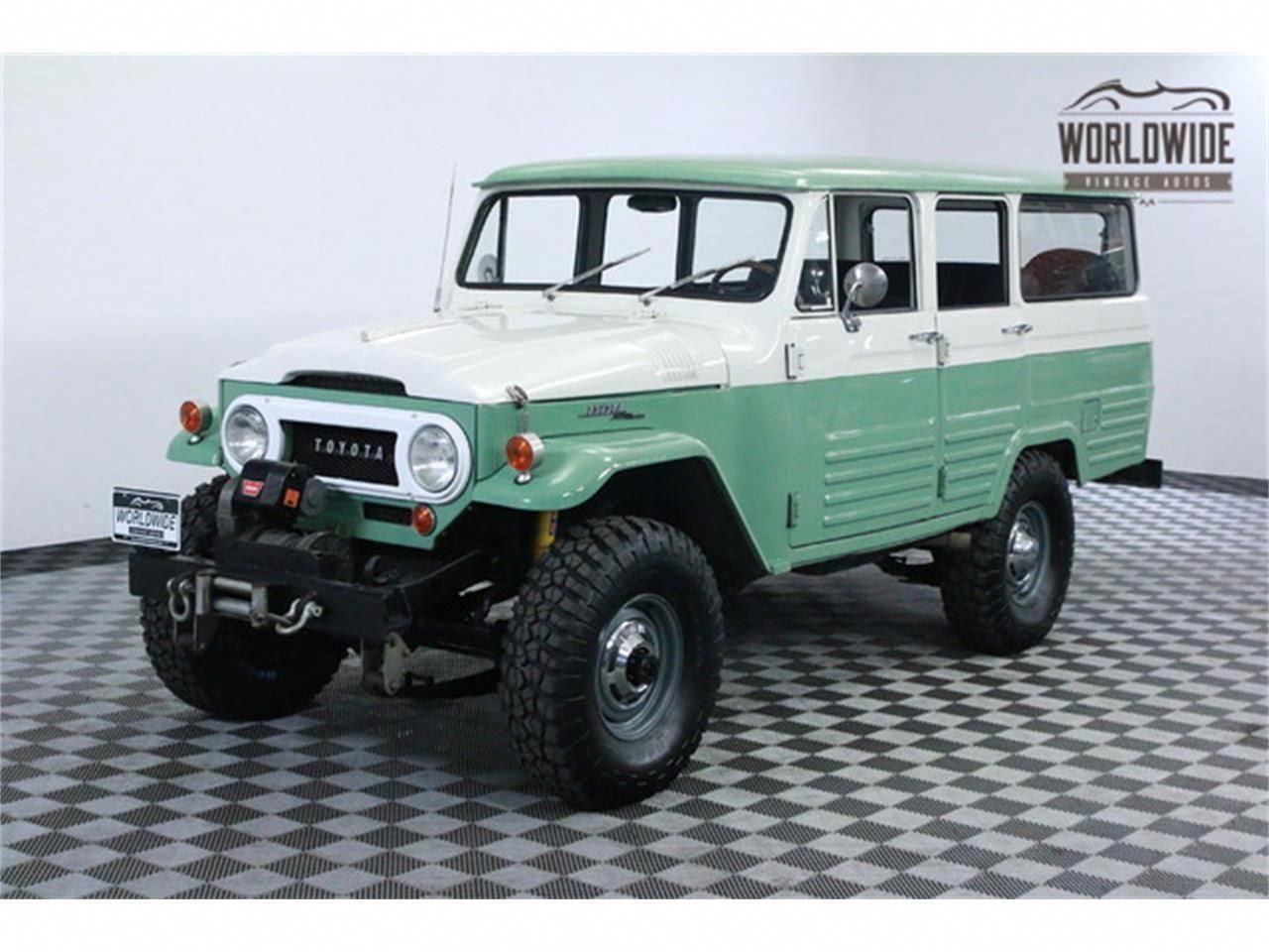 1966 Toyota Land Cruiser Fj45 For Sale Classiccars Com Cc 921181 Toyotaclassiccars Toyota Land Cruiser Land Cruiser Toyota