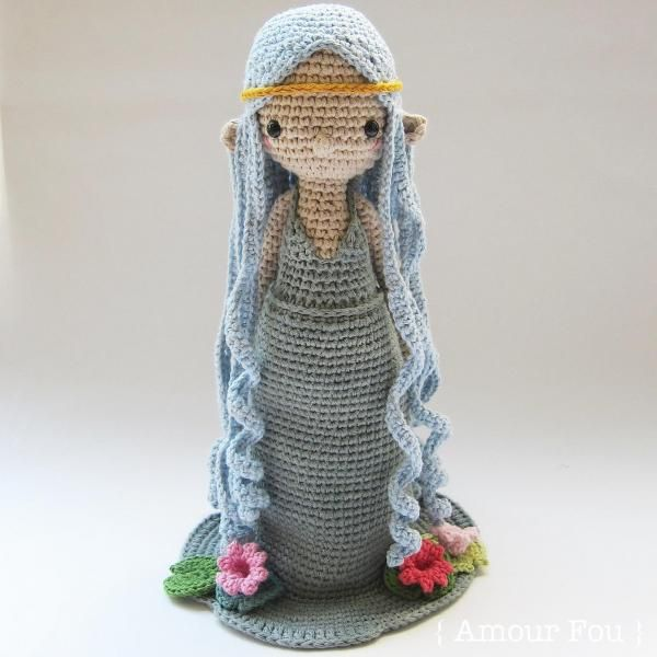 Lily, the water nymph by {Amour Fou}   Crochet I Like - Trolls ...